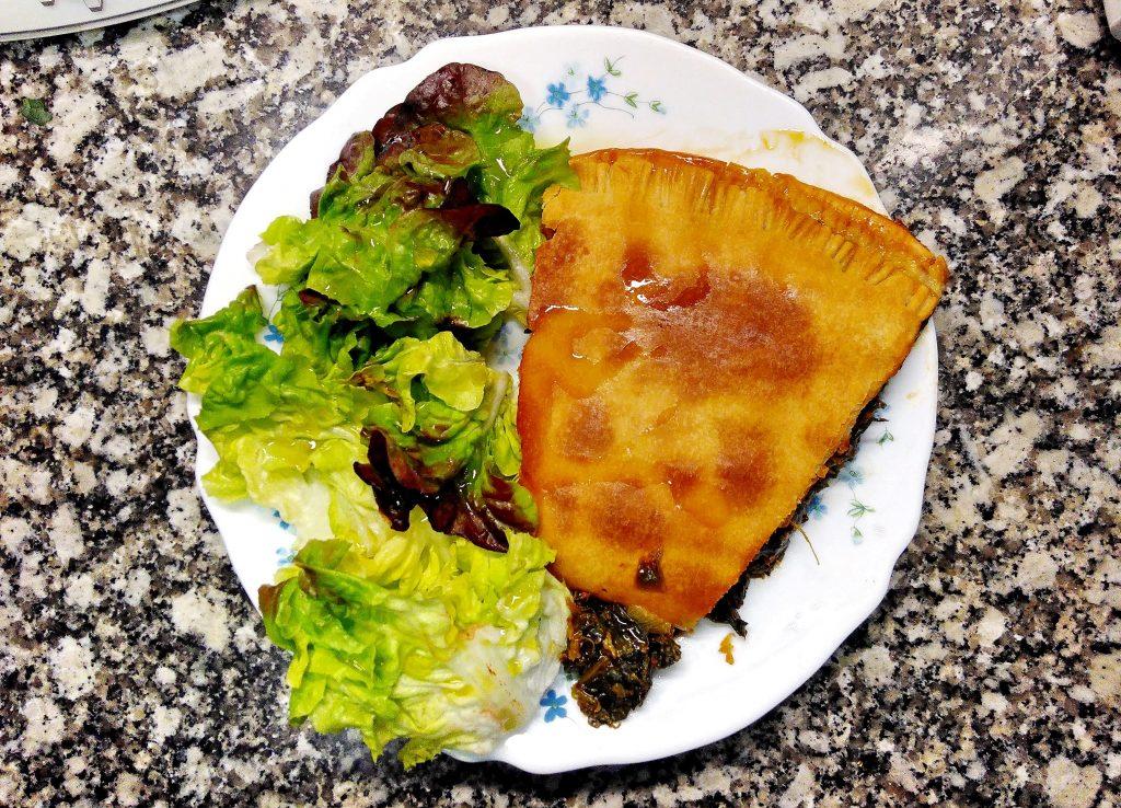 Empanada Epinards