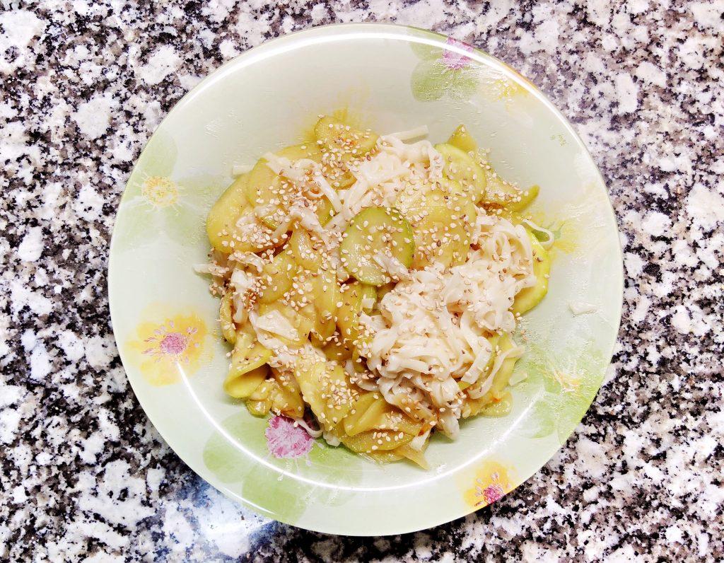 Noodles Courgettes
