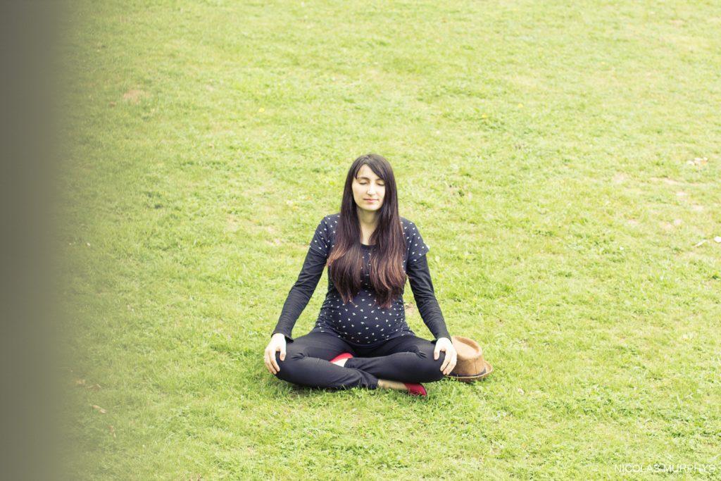 En mode yoga