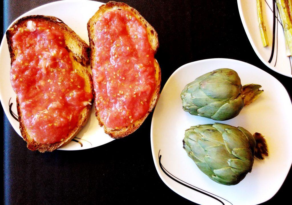 Pa Amb Tomaquet & Artichauts