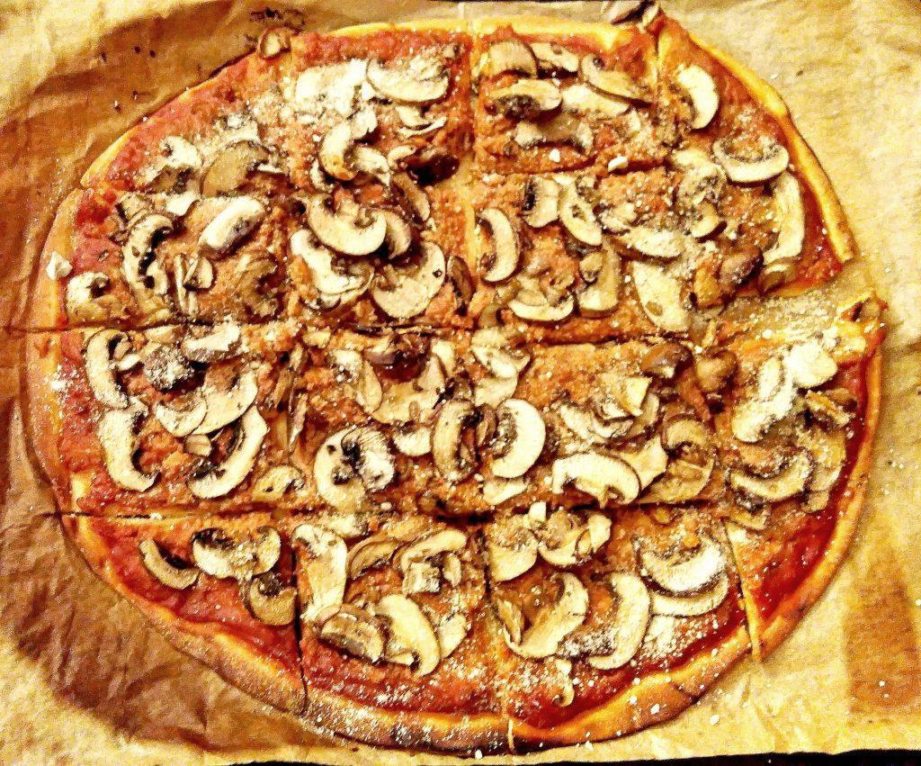 Pizza Bolognaise Champignons
