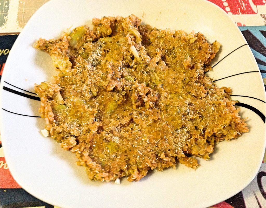 Quinoa Brocoli