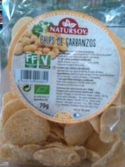 Chips de pois chiche