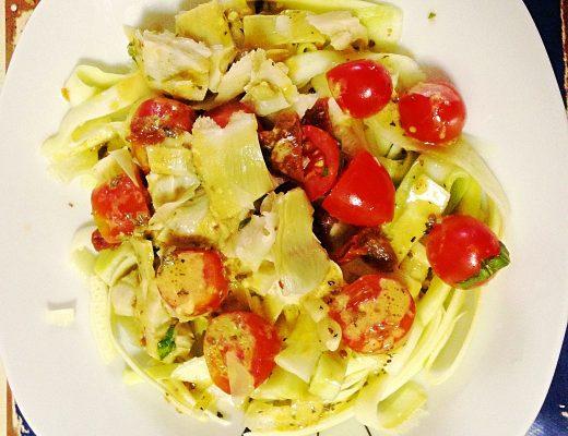 Salade Méditerranéenne de Courgettes