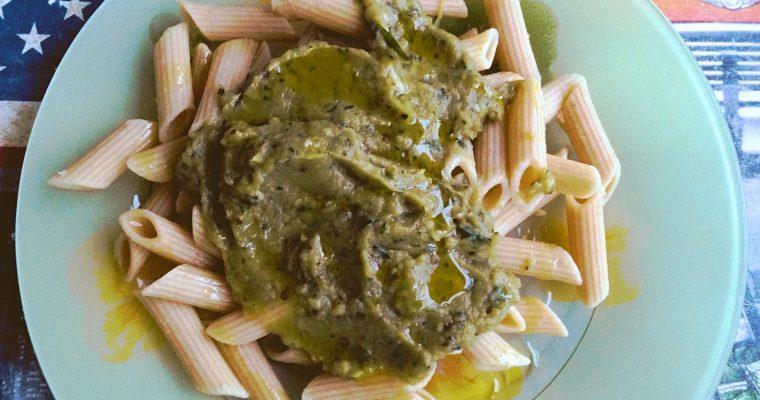 Salade de Pâtes Légumes Grillés_Fotor