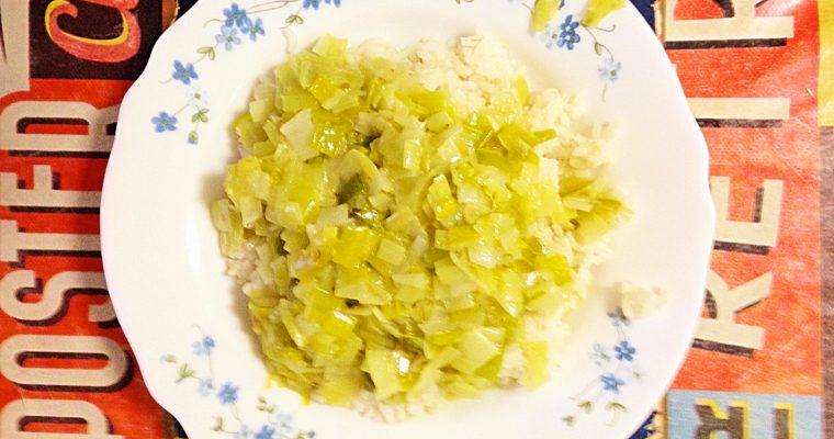 Curry aux Poireaux