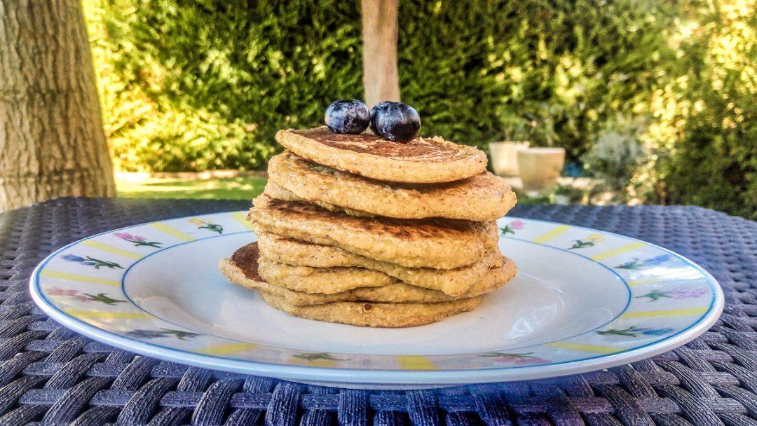 Pancakes vegan sans gluten et sans sucre