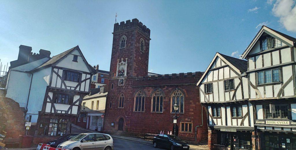 Église et Maisons Exeter