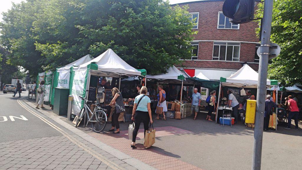 Farmers Market Exeter