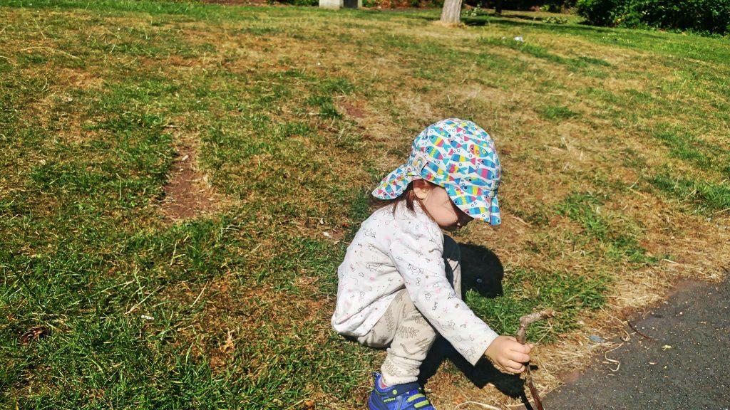 Avril au parc